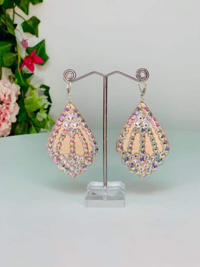 Sparkly Earrings - Lightweight Collection (L2)   Moonlight Design