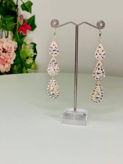 Long droplets earrings - Lightweight Collection (L5) | Moonlight Design