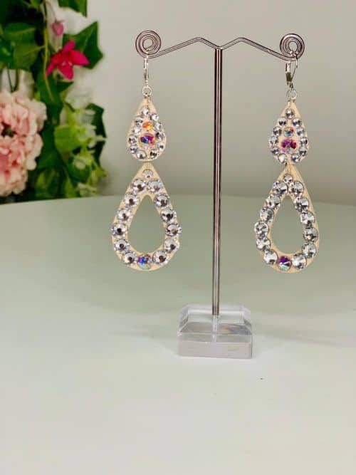 Droplets earrings - Lightweight Collection (L6) | Moonlight Design