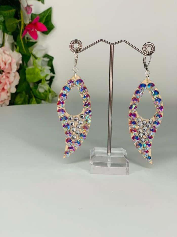 Long fire earrings Lightweight Collection (L7) | Moonlight Design