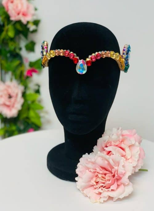 Accessory for your face rainbow