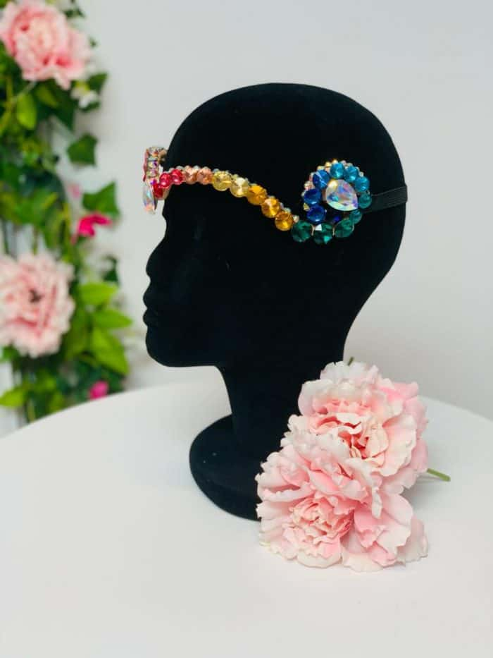 Head piece for belly dancers
