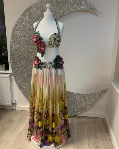 Belly dance costume is a creation by Moonlight Design. You can create your own belly dance costume