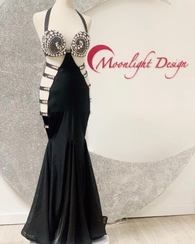 This black costume is a Moonlight Design's creation