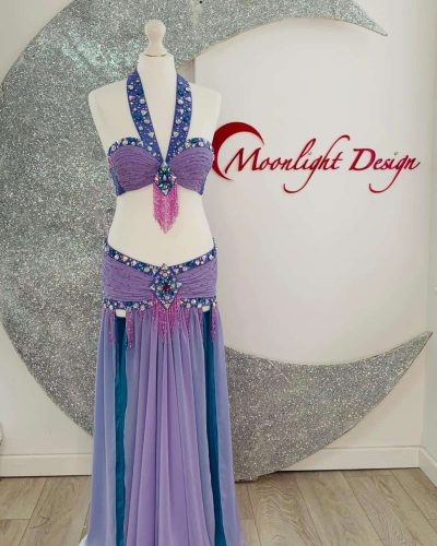 Belly dance costume | Golden era style | belly dance shop